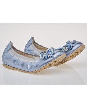 Balerinki C697 niebieskie