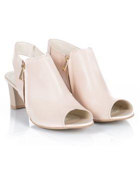 Sandałki L038 beżowe