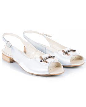 Sandałki L512 białe
