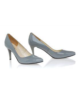 Gray pumpss