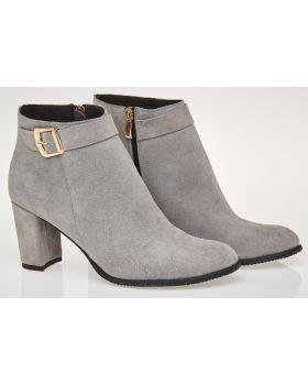Grey booties B474