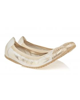 Ballerinas C606 gold bent