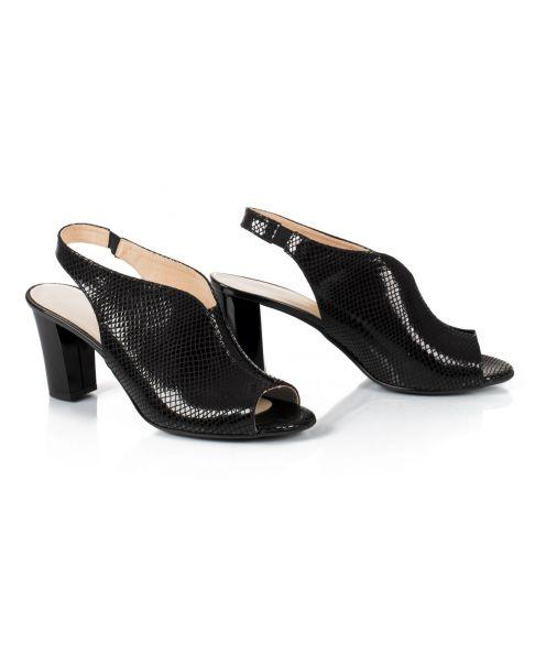 Sandałki 438 czarne