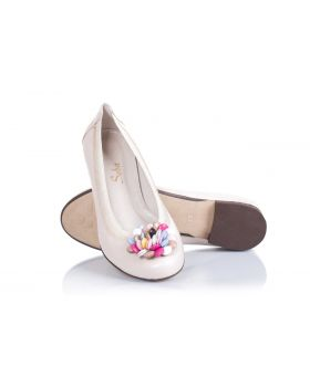 Ballerinas 496 beige wide