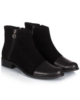 Booties B466 black wide