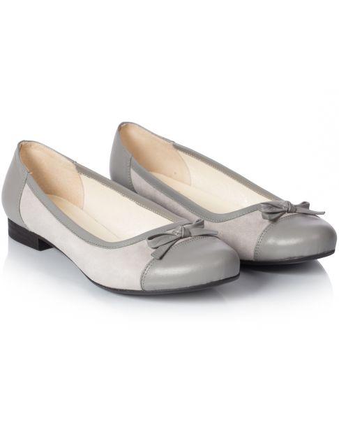 Ballerinas C501 grey
