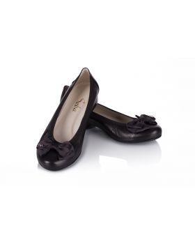 Ballerinas C611 black wide