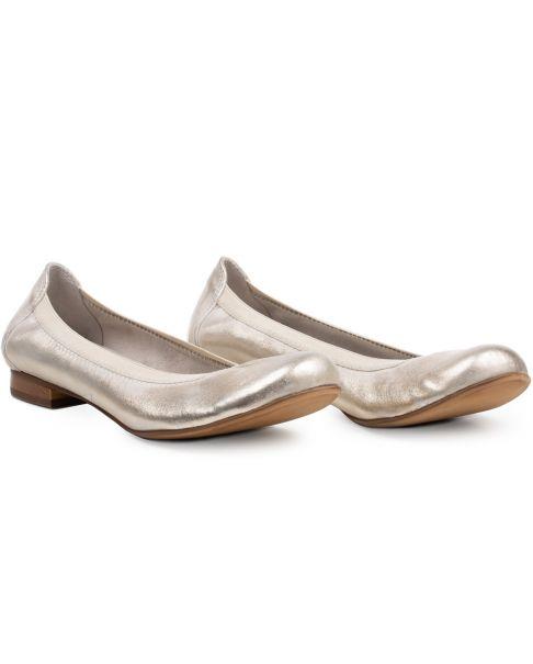 Ballerinák C615 arany széles