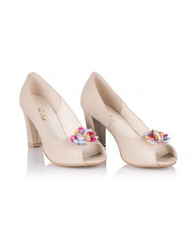 Pumps C726 beige volle
