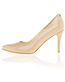 Pumps high heel beige