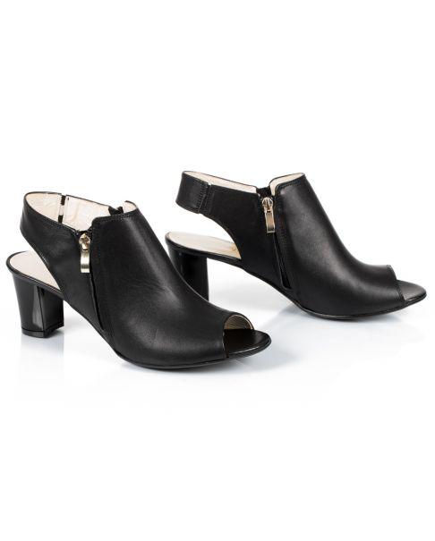 Sandałki L038 czarne