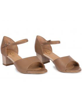 Sandałki L141 toffi szerokie