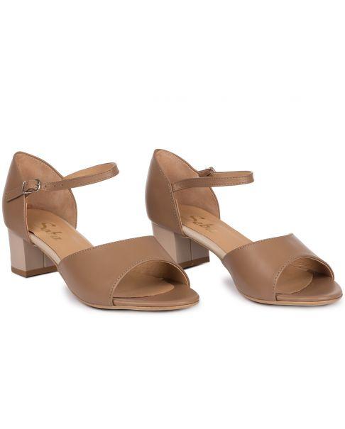 Sandále L141 toffi široký