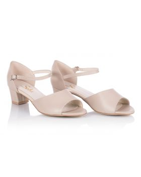 Sandals L141 beige wide