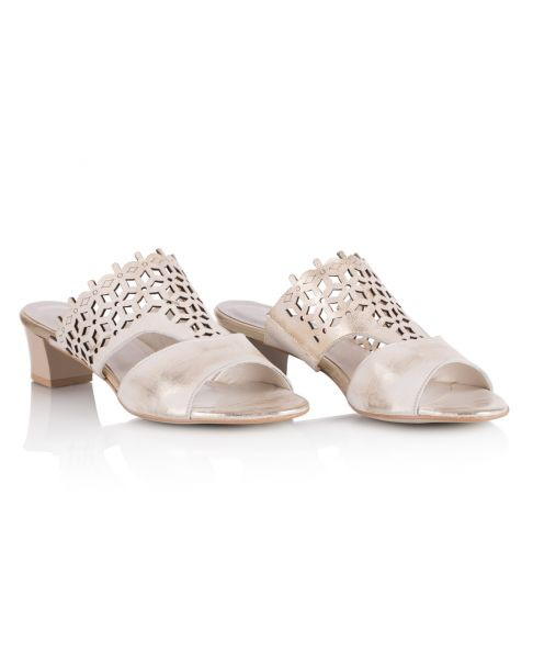 Sandałki L192 beżowe