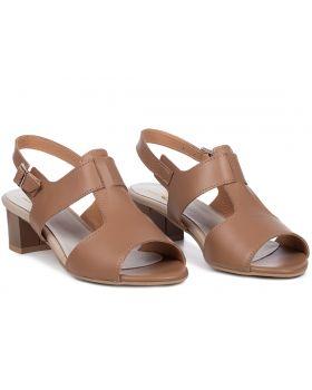 Sandałki L222 toffi szerokie
