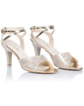 Sandałki L242 złote