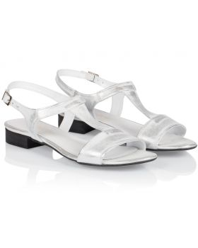Sandals L255 silver wide