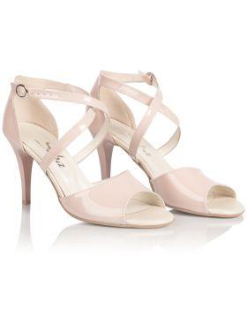 Sandałki L279 różowe