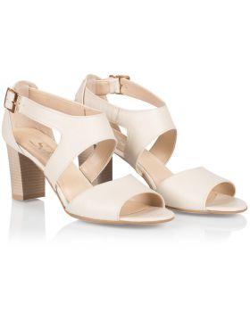 Sandály L437 béžový