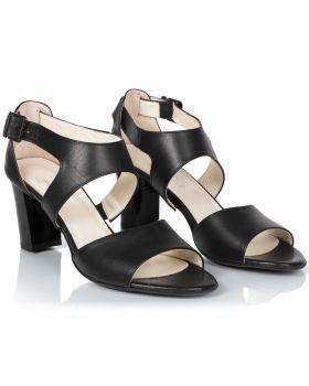 Sandałki L437 czarny