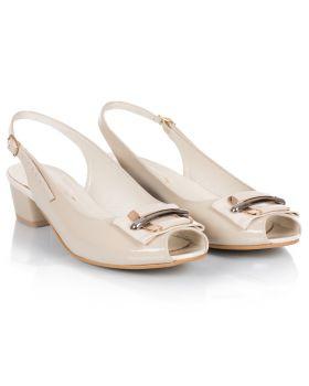 Sandałki L521 beżowe
