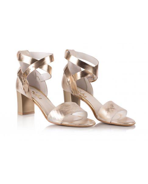 Sandałki L528 złote