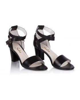 Sandałki L528 czarne