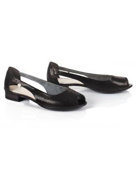 Sandály L750 černá (široké)