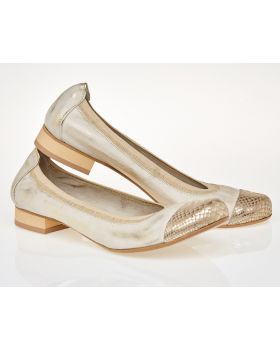 Ballerinas C606 gold
