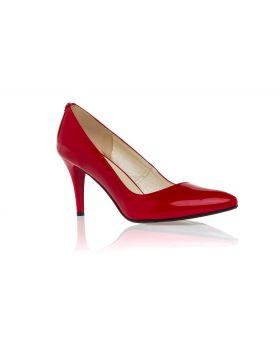 Shuttles high heel red